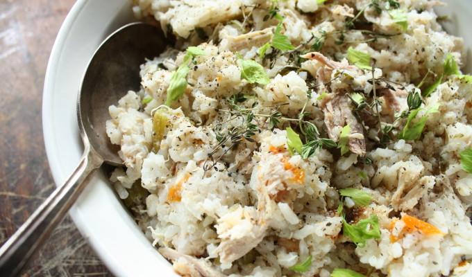 Chicken and Rice – Seasonal Veggie Style