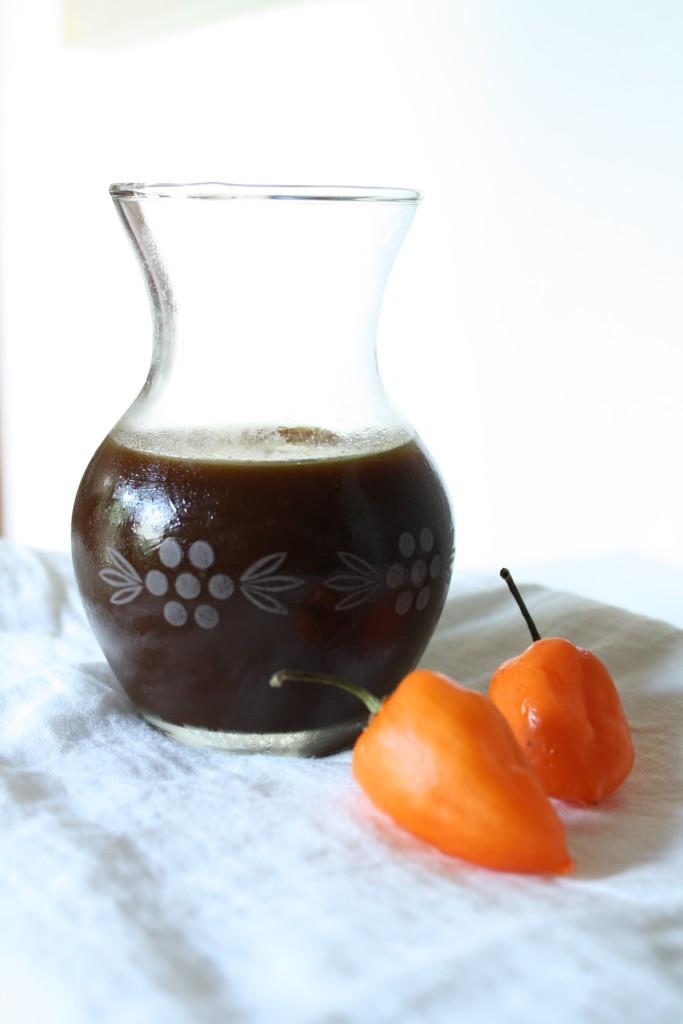 Habanero Mango BBQ Sauce