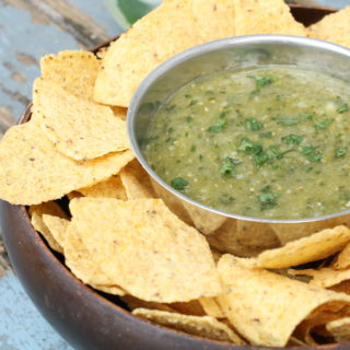 The Best Roasted Salsa Verde