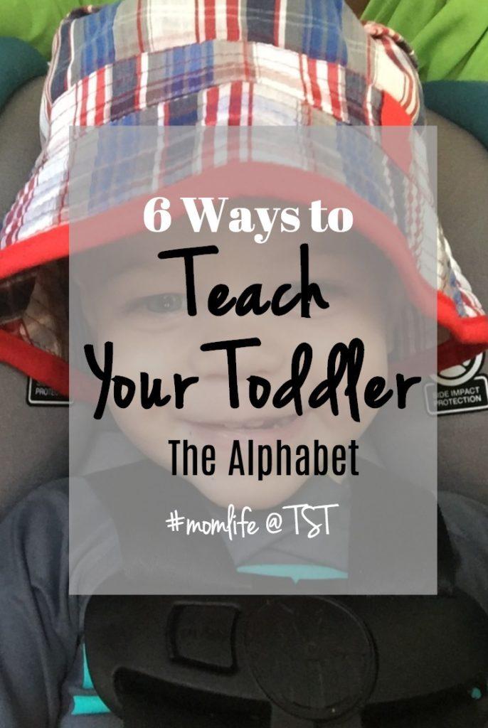 6 ways to teach your child the alphabet
