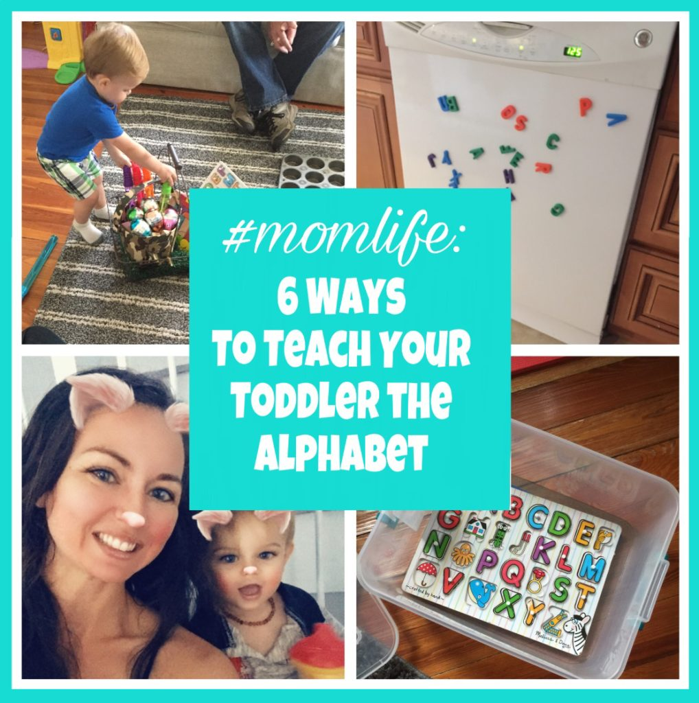 teach your toddler the alphabet
