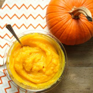 5 easy ways to get fresh pumpkin puree! It's so easy!